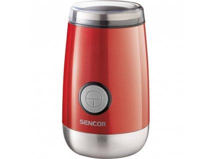 Mlynček Sencor SCG 2050RD na kávu, červený