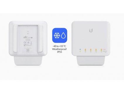 Switch Ubiquiti Networks USW-FLEX UniFi Flex, PoE-In, 4x PoE-Out