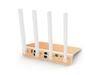WiFi router Netis 360R AC1200, AP/Client/repeater, 4x GLAN, 1x GWAN, USB, 4x 5dBi