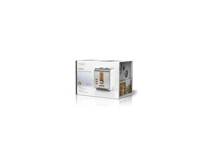 Hriankovač Nedis KABT 510 EWT 900 W, biele prevedenie