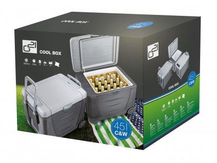 Autochladnička G21 C&W 45 litrov, 12/230 V