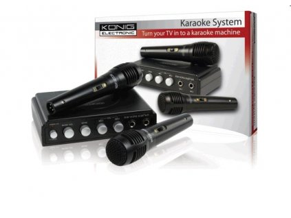 Karaoke set KÖNIG 2 mikrofony