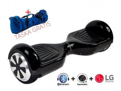 Rozbalený Aboard simple 6,5' Čierny s LG batériou, bluetooth a reproduktorom
