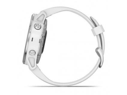 Hodinky Garmin fenix6S Glass Silver/White Band