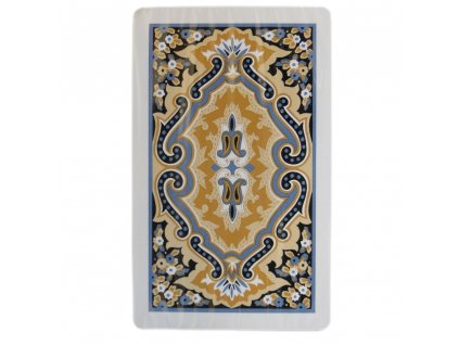 Pokrové karty Kem Paisley Bridge 100% plastové, 2 balíčky