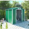 Záhradný domček G21 GAH 407 - 213 x 191 cm, zelený